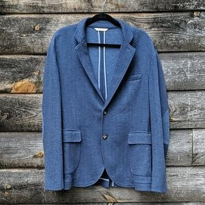 Brooks Brothers Red Fleece Blue Herringbone Jacket